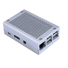 Aluminum Case Silver Metal Case Enclosure Kit For Raspberry Pi 3 Model B +