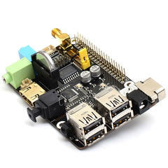 Raspberry Pi DAC Audio Expansion Board Adapter Set
