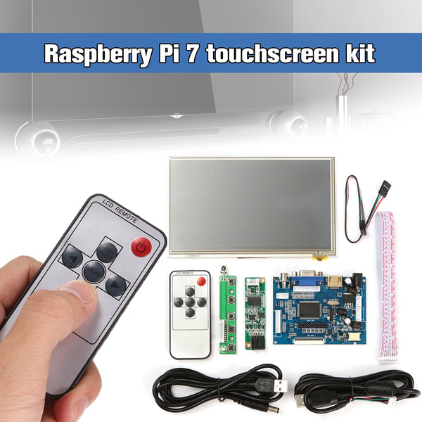 1Set  Raspberry Pi 7 inch LCD Touch Screen Display
