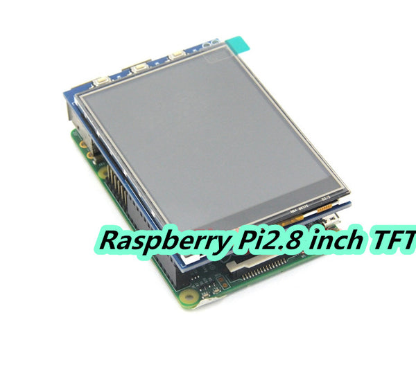 2.8 inch screen Raspberry Pi 3 TFT with touch panel color display