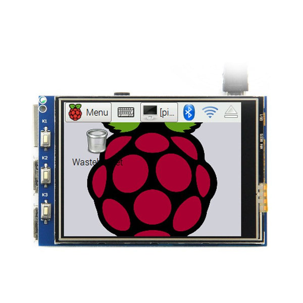 Raspberry Pi 3 Model B LCD screen with touch panel