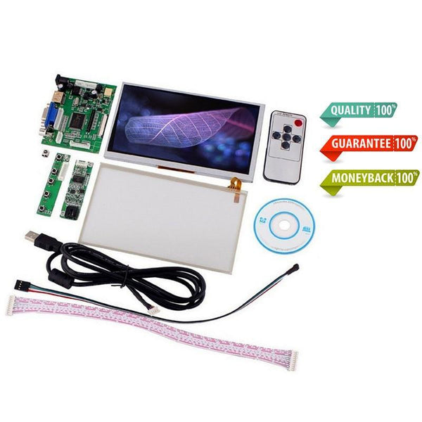"7""inch Raspberry Pi LCD Touch Screen Display TFT Monitor"