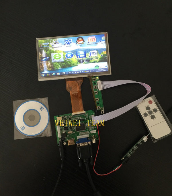 7 Inch for Raspberry Pi 3 Display  TFT LCD Module with Touch Screen