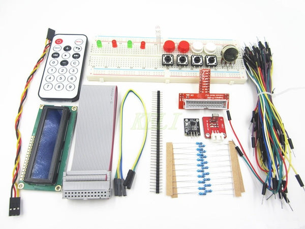 1 Set Raspberry PI Breadboard LCD Adapter Cable LED Sensor