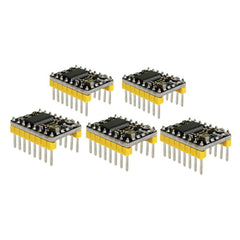 Stepper Motor Driver for Arduino 3D printer Black&yellow