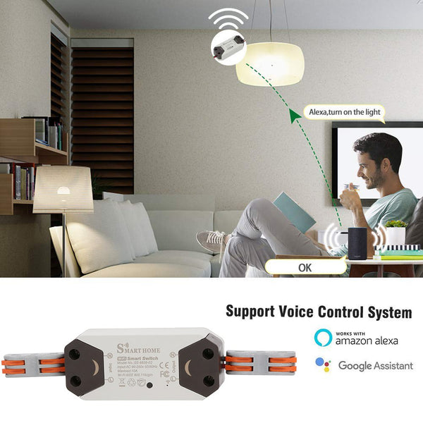 Wireless Control Wifi Switch Smart Intelligent Wireless Center
