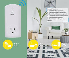 Automation Remote Control Timer Control Wifi Socket Plug Outlet Smart Remote Wireless