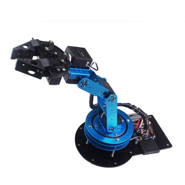 6 DOF CNC Robotic Mechanical Arm Robot Education Teaching Suite
