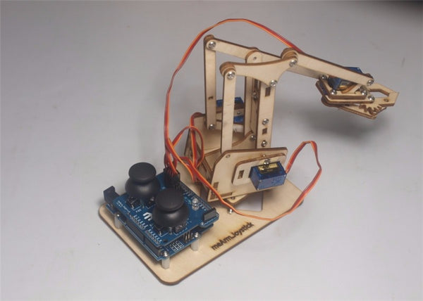 Intellectual Development Wooden Me Arm Robotic Arm Learning