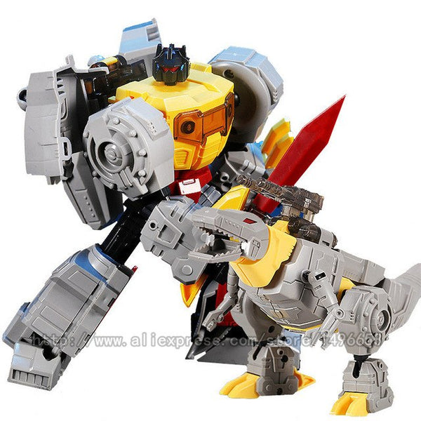 Robots Deformation Model Kids Toys Hand Make Assembly Model Action Figure