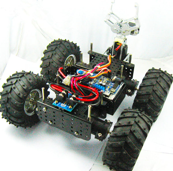 Wild Thumper Chassis With 2 Encoders DOF Gripper