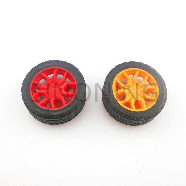 Rubber Tires Toy Car Wheel Part