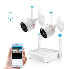 CCTV Security Camera System Wifi Mini Kit Video Surveillance Home Wireless IP