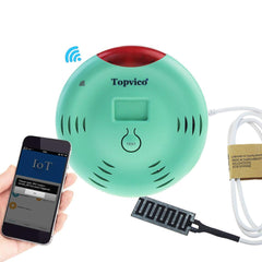WIFI Water Leak Detector Alarm APP Control Wireless Water Leakage Sensor Detection Overflow