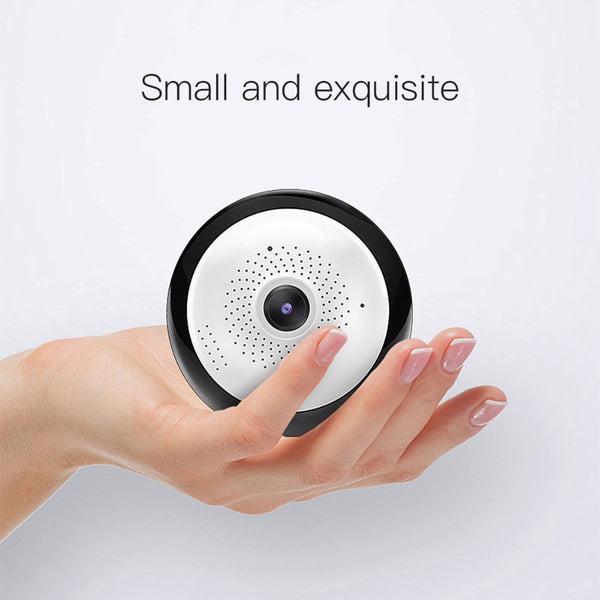 Panoramic Camera Wireless Wifi IP Camera Night Vision Motion Detection Two Way Audio