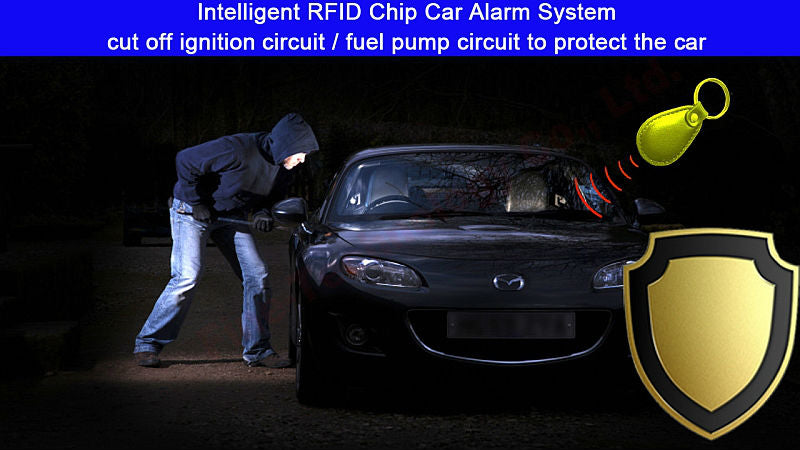 RFID Non Contact Immobilizer Electronic Vehicle Ignition Blocker Wireless  Relay Transponder