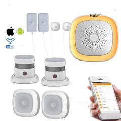 Humidity Environment Safety Detecting Alarm System