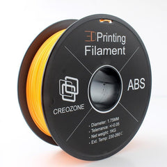 3D Printer Filament ABS Plastic Filament Orange