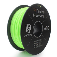 Premium ABS Filament Spool Plastic 3D Printing Filament Light Green Color