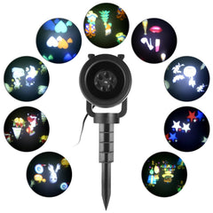 Waterproof Outdoor/Indoor Projection Light Projector LED Spotlight