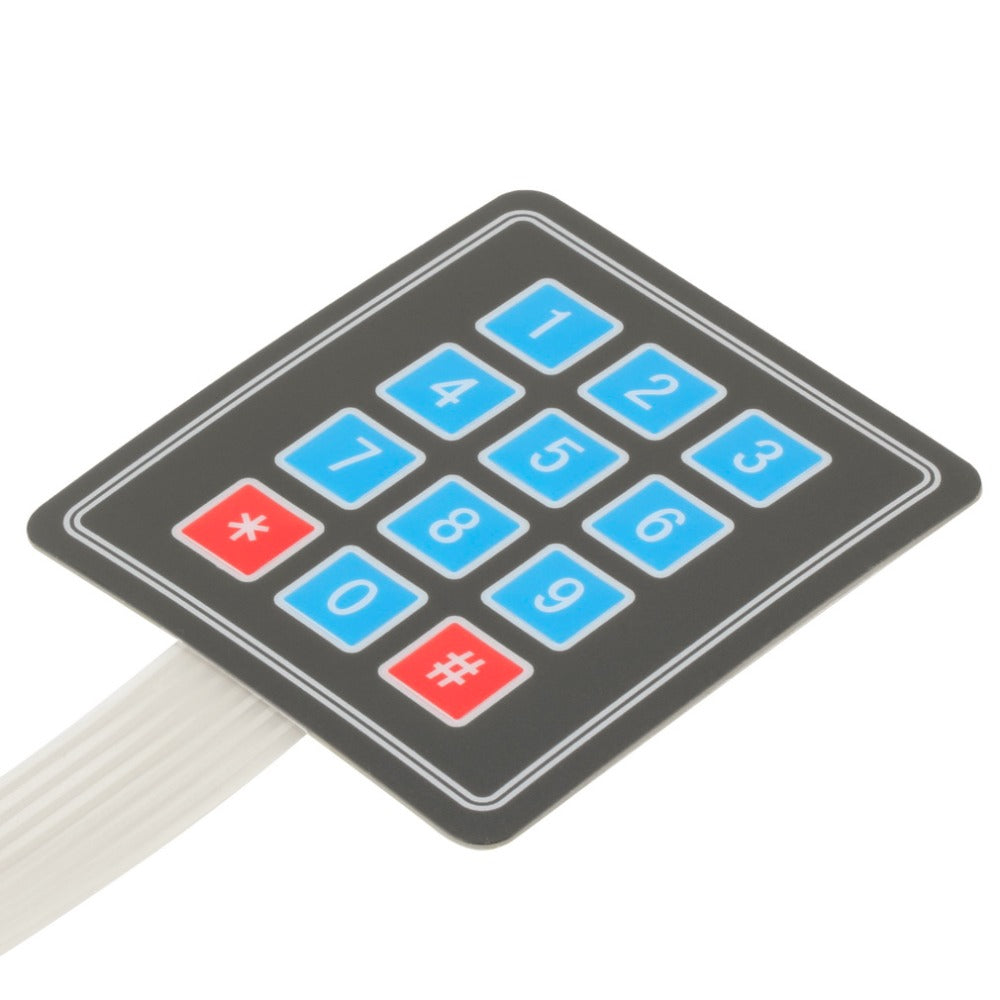 Matrix Array Membrane Switch Keypad Keyboard For Arduino