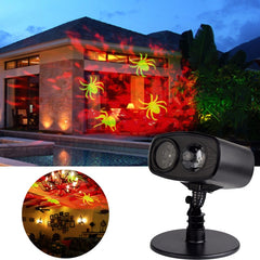 Laser Projector Lamp Red Watermark Spider Cast LED Stage Light