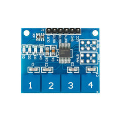 Digital Switch Touch Module 4 8 16 Channel Way For Arduino