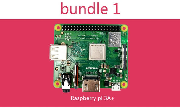 Raspberry Pi 3 Model A+ Plus 4-Core CPU Same As Raspberry Pi 3 Model B+ Pi 3A+ with WiFi and Bluetooth