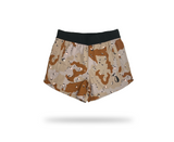 Women's Athletic Shorts - Choco Chip