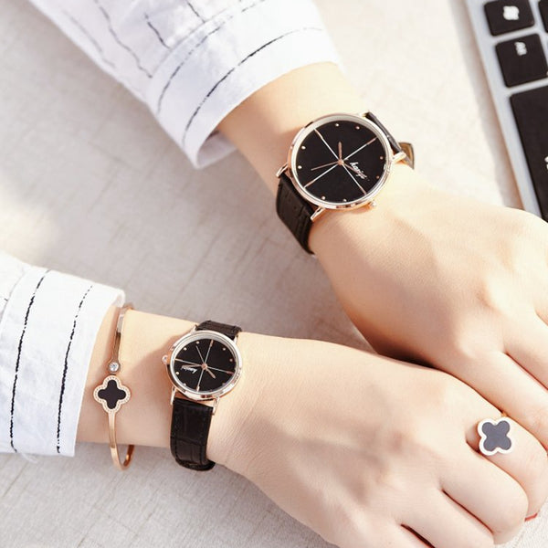 Luxury Brand Lover Watch Pair Men Women Quartz Watche - Rich In Apparel
