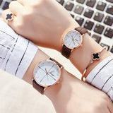 Luxury Valentine Brand Lover Watch Pair Men Women - Rich In Apparel