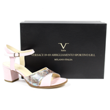 V 1969 Italia Womens Ankle Strap Sandal - Rich In Apparel