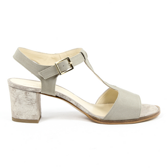 V 1969 Italia Womens Sandal Taupe IDA - Rich In Apparel