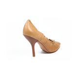 Max Azria ladies pump open toe MA-IDALINA RUST - Rich In Apparel