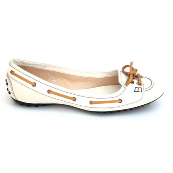 Tod's ladies ballerina XXW0HI095402BXB001 - Rich In Apparel