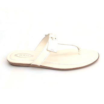 Tod's ladies flat sandal XXW0II0A120ATSB001 - Rich In Apparel