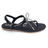 Tod's ladies flat sandal XXW0II0A250BR09975 - Rich In Apparel