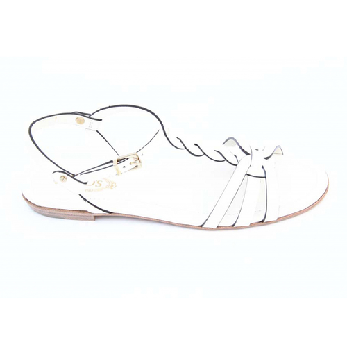 Tod's ladies flat sandal XXW0MD0A060297B001 - Rich In Apparel