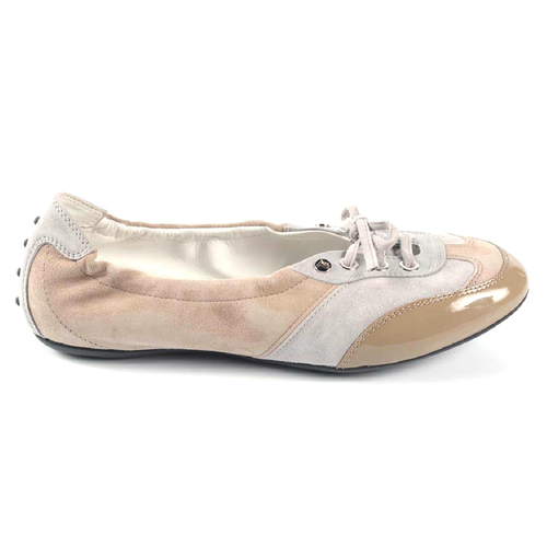 Tod's ladies ballerina XXW0RG0G9101JN191E - Rich In Apparel
