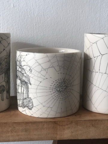 Collected 2019 Web & Pumpkin drawing Tumbler