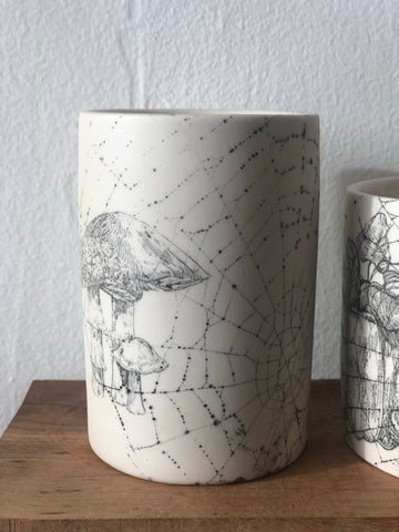 Collected 2019 Web & Mushroom drawing Tumbler