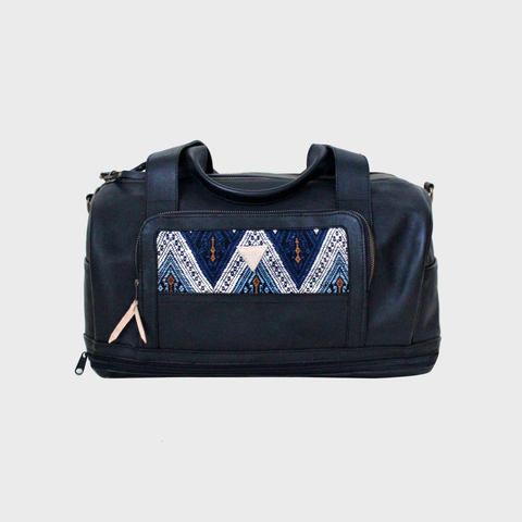 Journey Mini Duffel Black Triangulum