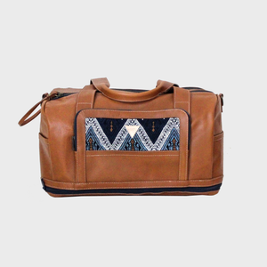 Journey Mini Duffel Tan Triangulum