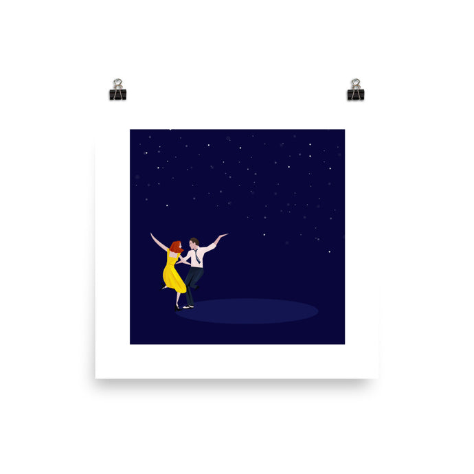 La La Land - Illustrated Poster