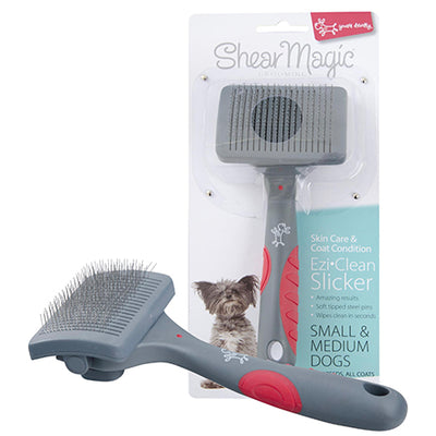 Shear Magic EziClean Slicker Brush