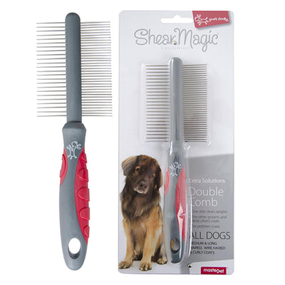 Shear Magic Comb Double Sided - for all breeds