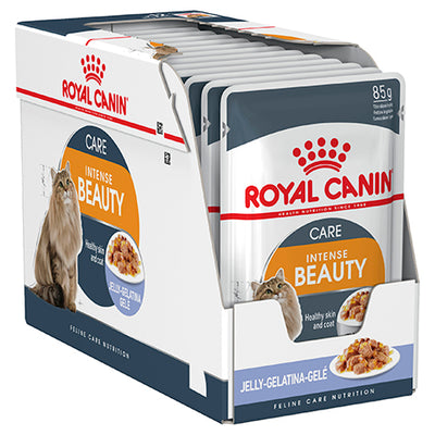 Royal Canin Intense Beauty Cat 85g (in Jelly) Sachets