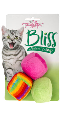Trouble & Trix Bliss Balls 3pk Pet Accessories