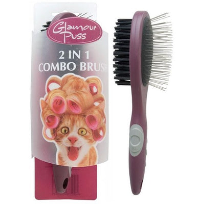Glamour Puss 2in1 Combo Brush