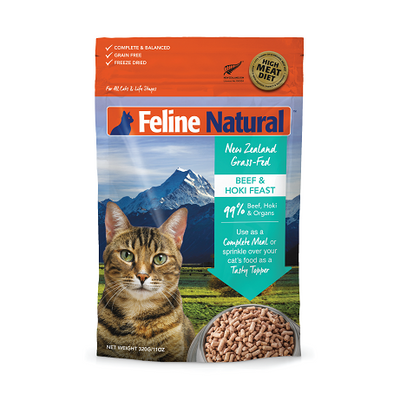 Feline Natural Beef and Hoki Feast Cat Food